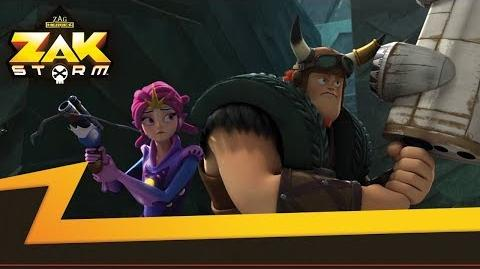 ZAK STORM ⚔️ THE LABYRINTH OF MINOTAUR ⚡️ Super Pirate