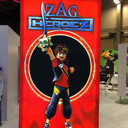 Zag Heroez Zak Storm and Calabrass poster