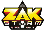 ZAKSTORM Super Pirate Logo