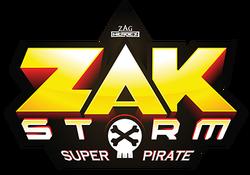ZAKSTORM Super Pirate Logo