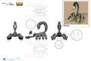 Giant Scorpion character concept art