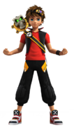 Zak Storm and Calabrass Render 1