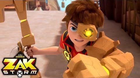 ZAK STORM ⚔️ MORLOCK THE UNSTOPPABLE ⚡️ Super Pirate