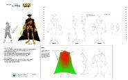 Golden Bones character concept art