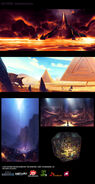 Numerous Locations concept art