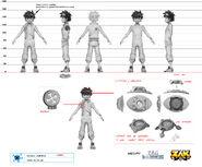 Zak Storm character concept art
