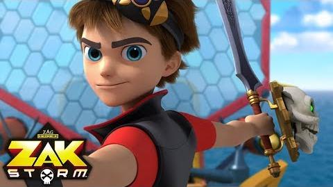 ZAK STORM ⚔️ ORIGINS - Part 2 ⚡️ Super Pirate
