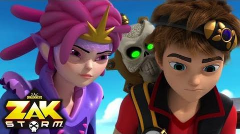 ZAK STORM ⚔️ TROLL DIVING ⚡️ Super Pirate