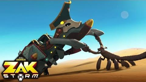 ZAK STORM ⚔️ THE SHIPWRECKED IN THE SAND ⚡️ Super Pirate