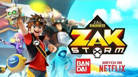 ZAK STORM ⚔️ BANDAI TOYS & GAME APP NOW AVAILABLE ⚡️