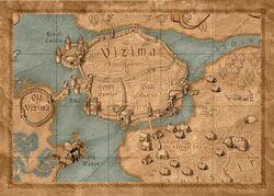 Vizima mapa