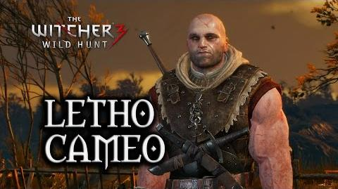 The Witcher 3 Wild Hunt - Letho Cameo Ghosts of the Past Quest