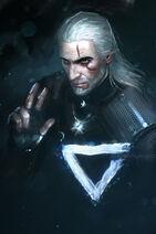 Geralt by anndr