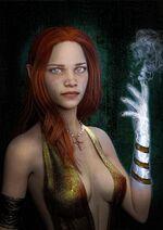 100 sorceresses ida emean 4 by aschmit