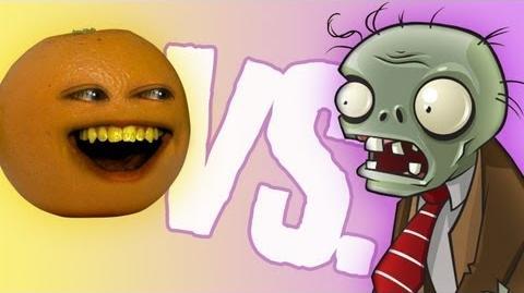 Fruits vs Zombies Annoying Orange