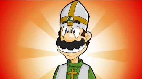 LUIGI IS THE POPE