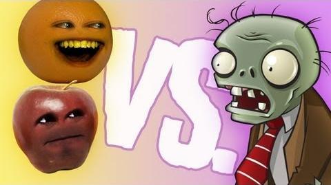 Fruit vs Zombies Midget Apple