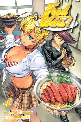 Food Wars Volume 4