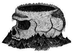 Gargyllian Bollogg's Skull