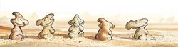 Sculptures in the Demerara Desert