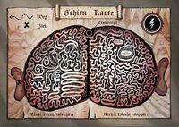 Gehirnkarte