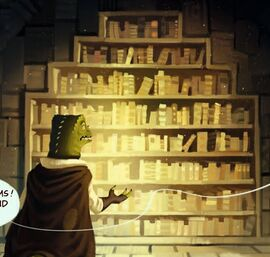 Bibliothek des Orms