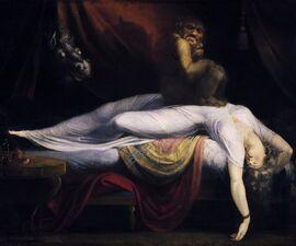 Nachtmahr - Johann Heinrich Füssli