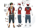 Zanki Zero Art Book - Ryo Mikajime - Design Profile (Adult)