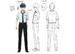 Zanki Zero Art Book - Haruto Higurashi - Design Profile (Middle Age)