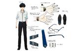Zanki Zero Art Book - Haruto Higurashi - Design Profile (Details)