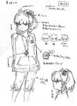 Zanki Zero Art Book - Yuma Mashiro - Unused Designs 1