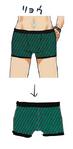 Zanki Zero Art Book - Ryo Mikajime - Design Profile (Underwear)