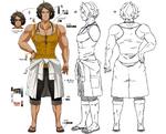 Zanki Zero Art Book - Mamoru Ichiyo - Design Profile (Adult)