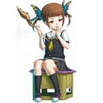 Zanki Zero Last Beginning Promo Illustration Yuma Mashiro (Child)