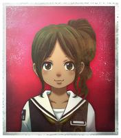 Zanki Zero Last Beginning ID Image Minamo Setouchi (Child)