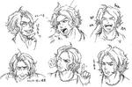 Zanki Zero Art Book - Mamoru Ichiyo - Design Sketches
