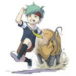 Zanki Zero Art Book - Ryo Mikajime - Character Illustration Early (1)