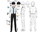 Zanki Zero Art Book - Haruto Higurashi - Design Profile (Adult)