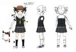 Zanki Zero Art Book - Yuma Mashiro - Design Profile (Child)