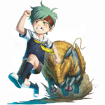 Zanki Zero Last Beginning Promo Illustration Ryo Mikajime (Child)