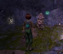 Tinefol dwarf in mountain world