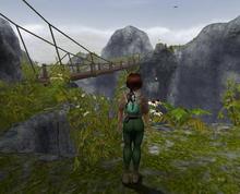Secret mountain world area