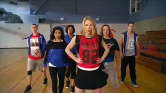 Taylor Dean and her dance squad