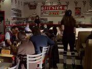 Pitstop Diner interior