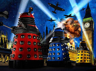 The Daleks in the Blitz of London