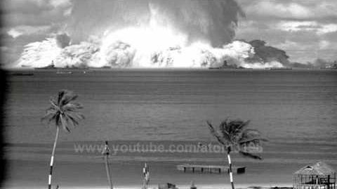 HD High Quality Underwater test explosion blast atomic bomb testing 1946