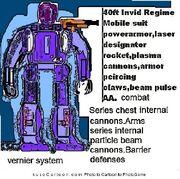 Invid Regime powerarmor