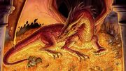 R169 457x256 11298 Smaug 2d fantasy dragon hobbit picture image digital art