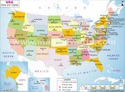 Maps of world usa states city