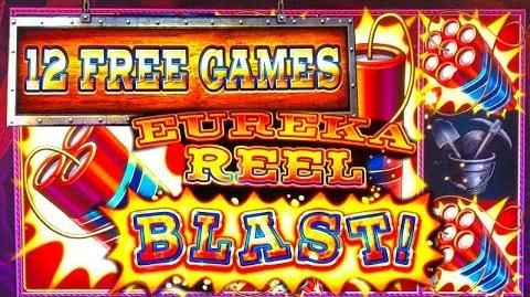 💥EUREKA BLAST💥12 FREE GAMES JACKPOT! The Big Jackpot at Lodge Casino